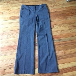 Express Editor gray business dress career pants 6R